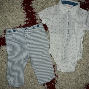 Baby boy two piece outfit